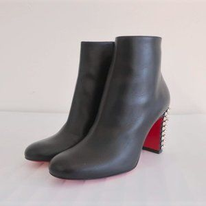 Christian Louboutin Suzi Folk 85 Ankle Boot